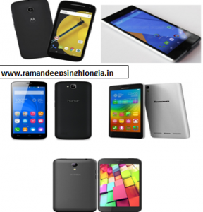 Top 5 Best Android Smart Phones Under Rs 8000 India