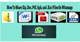 How To Share Zip, Doc, Pdf, Apk, and