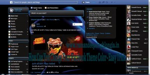 How Can You Change Your Facebook Theme Color - Easy Trick